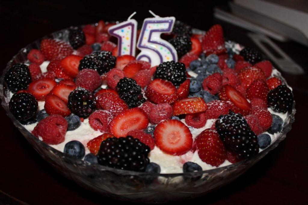 IMG 2158 1024x682 Red, White, and Blueberry Trifle! Amazing Fourth of July Dessert Idea!