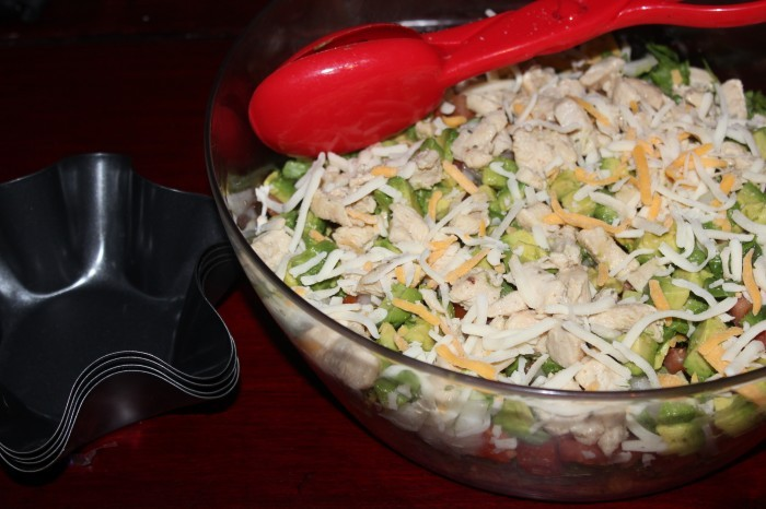 Easy Chicken Taco Salad Want Easy Dinners Ideas? Try This Easy Chicken Taco Salad Recipe!