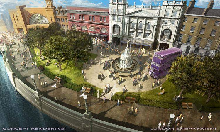 Universal Orlando Harry Potter Diagon Alley London Embankment  Universal Orlando Wizarding World of Harry Potter – Diagon Alley #UniversalOrlando London Embankment