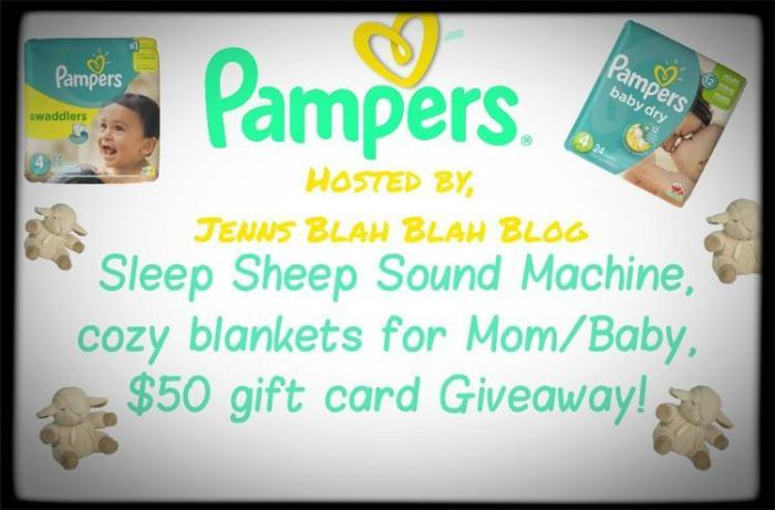 Pampers Giveaway Im Giving The Gift of Sleep To A Deserving Family!