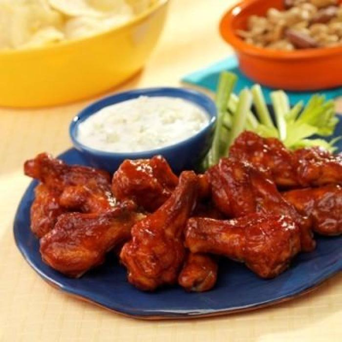 Saucy Chicken Wings Ten Easy Super Bowl Recipe Ideas Made With #Manwich