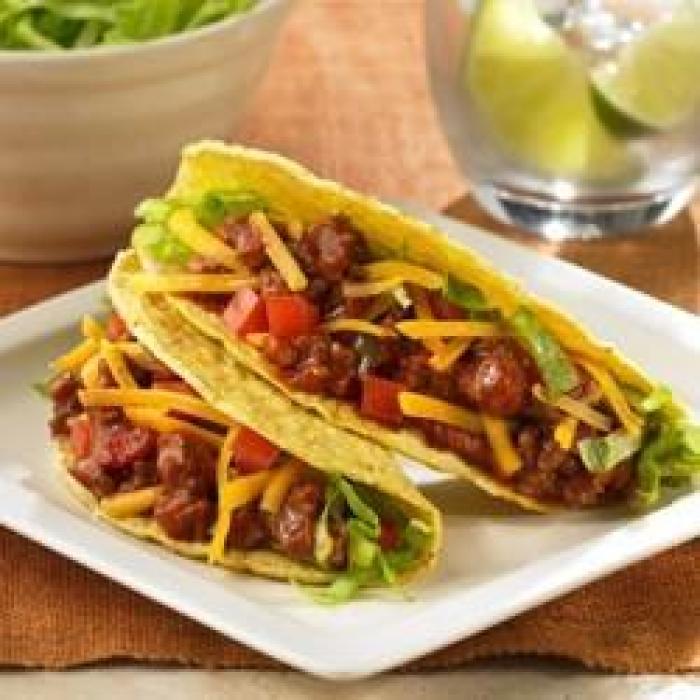 Sloppy Joe's Turkey Tacos Ten Easy Super Bowl Recipe Ideas Made With #Manwich