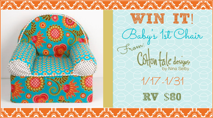 Gypsy 4 piece set by N Selby Designs #Giveaway: Enter To #Win Baby's First Chair