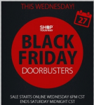 shop your way red and back image for doorbusters on black friday