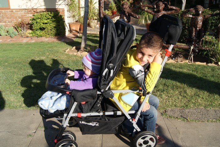 Baby Stroller Life Is so much Easier With The Joovy Caboose Ultralight!!
