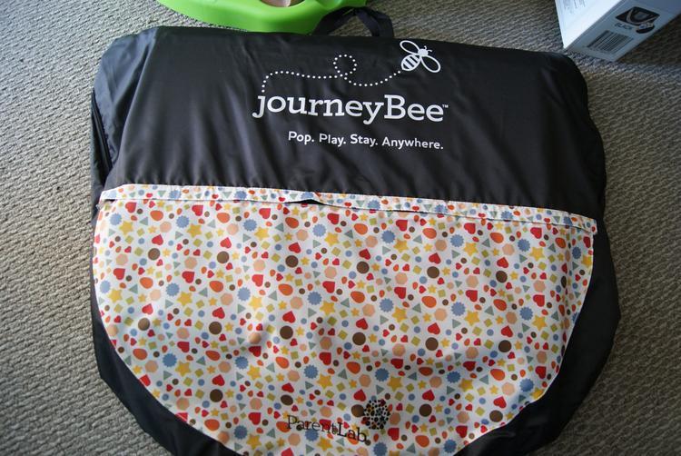 camra pics 008  JourneyBee Portable Crib Pop, Play & Travel!
