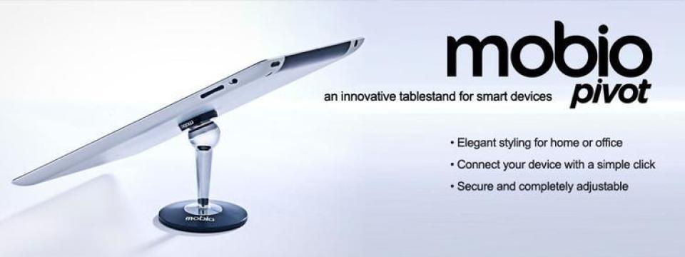 mobio pivot Adjustable Stand For Tablets and Mobile Devices Saves The Day!