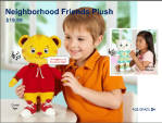neighborhood friends plush toy