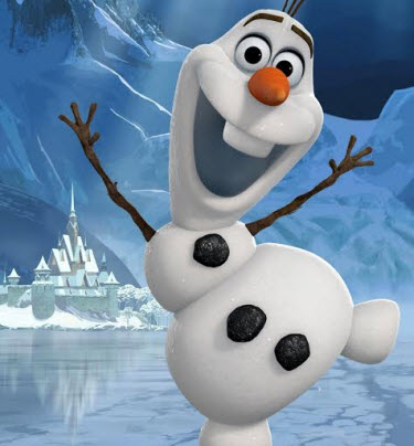 Disney\u0027s Frozen Movie DIY Olaf PreK Craft  Sing-a-long Free Printable