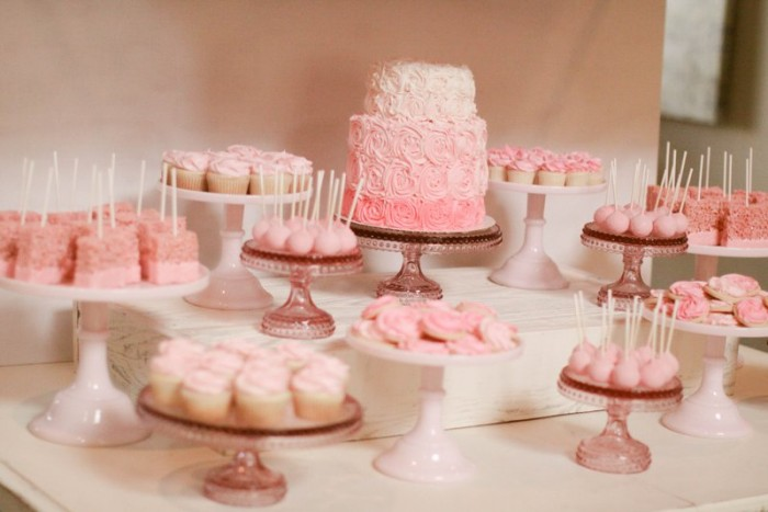 Bake Shop Baby Shower Dessert Table Jenny Cookies