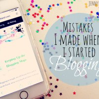 Mistakes I Made When I Started Blogging