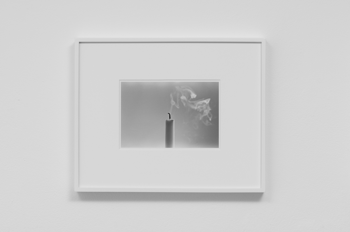 Carter Seddon - Candle 2, 2015, archival inkjet print, 11 ¾ x 14 ½ inches framed