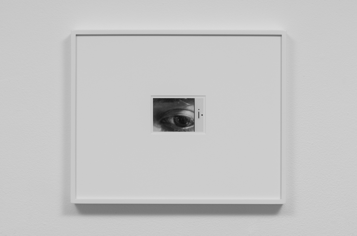 Carter Seddon - Eye, 2015, archival inkjet print, 11 ¾ x 14 ½ inches framed