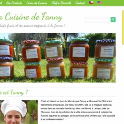 Création du site Cuisine de Fanny
