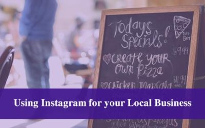 Using Instagram for your Local Business
