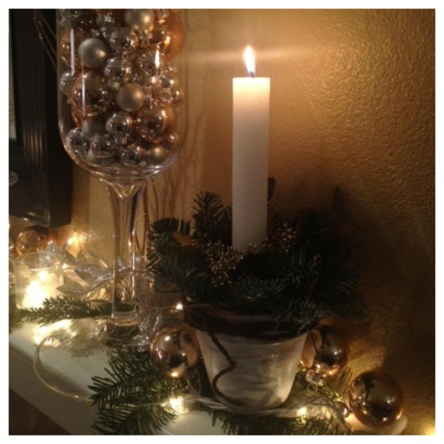 Taper Candle Centerpiece