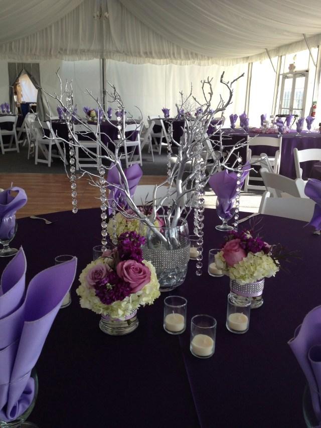 Chambers Bay Purple Wedding