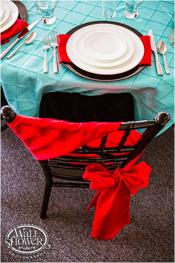 Red Chair Tie from American Party Place | Photo by: Wallflower Photography