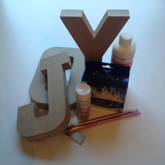 Joy Marquee Supplies