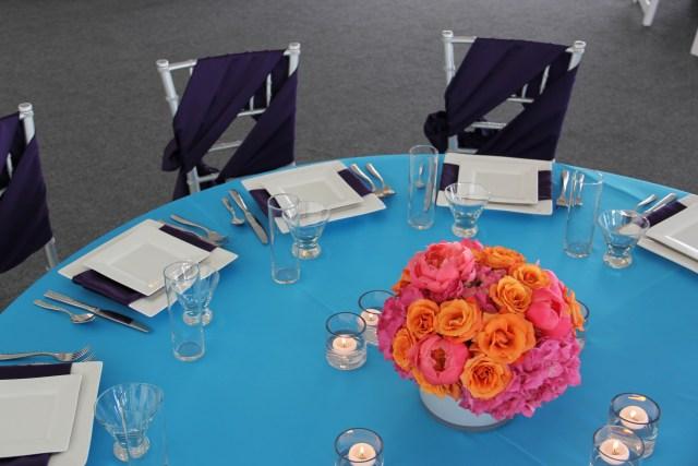 Turquoise & Purple Tabletop