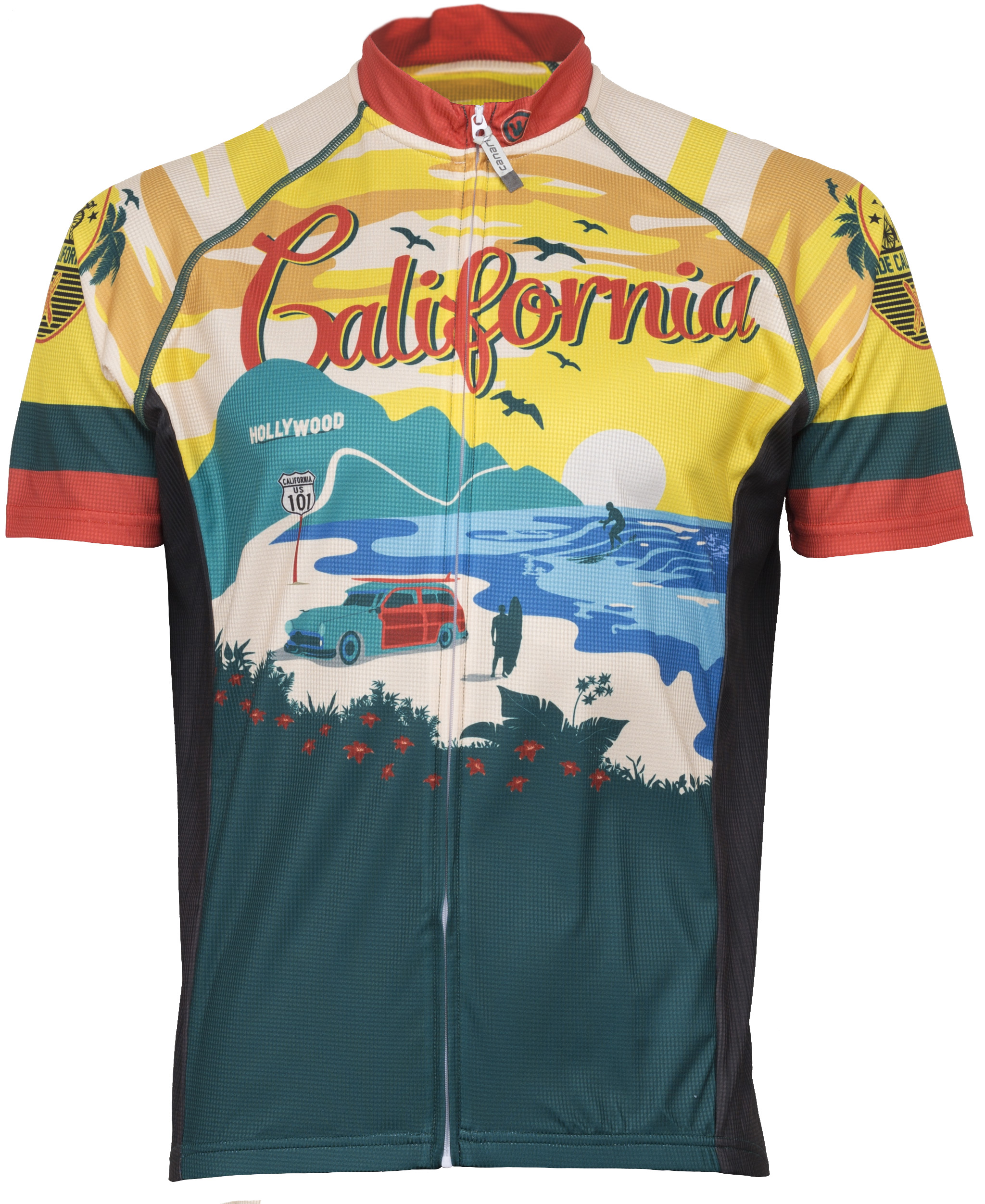 Retro Jerseys Canari Men S California Retro Jersey