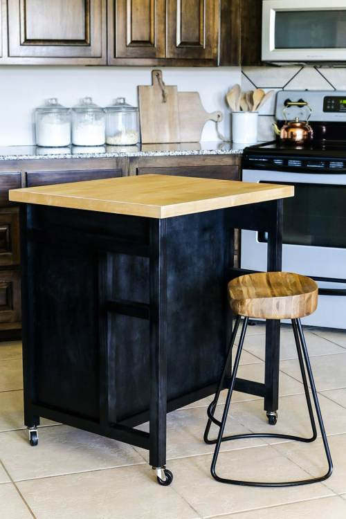 Medium Of Diy Kitchen Island With Storage