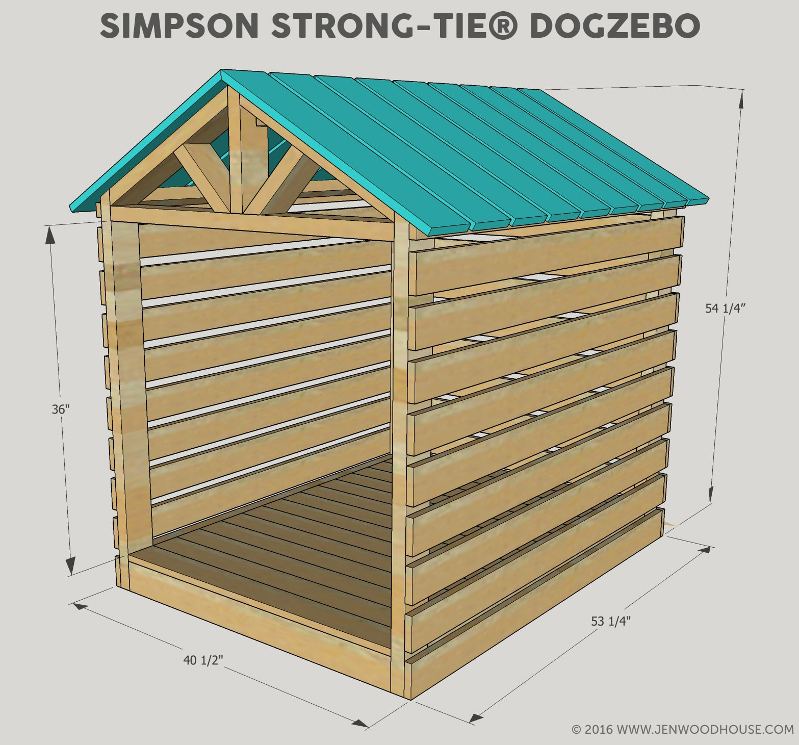 Dog House Diy Doghouse Gazebo