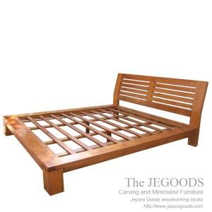 Minimalist Low Bed