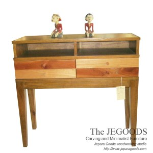 Rustic Pop Console Table Space