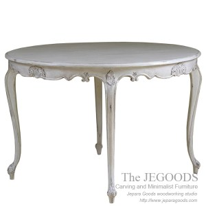Louis French Carving Round Dining Table