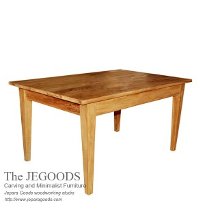 Teak Taper Dining Table