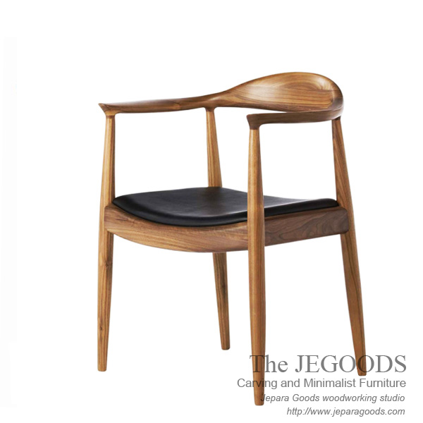 Pp mobler 501 hans wegner replica chair model kursi for Danish design furniture replica uk