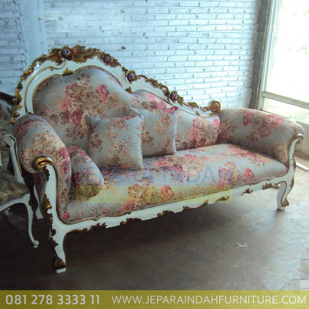 Jual Sofa Living Single Ukir Cantik Dan Mewah By Jepara Indah Furniture