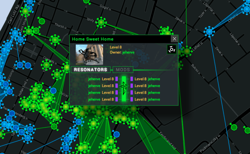 Ingress Game Dynamics: are Home Portals fair game?