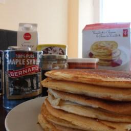 Pancakes for breakfast!