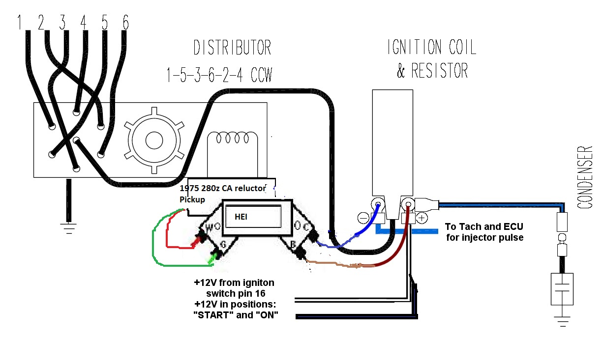 1977 datsun 280z fuel injection wiring diagram