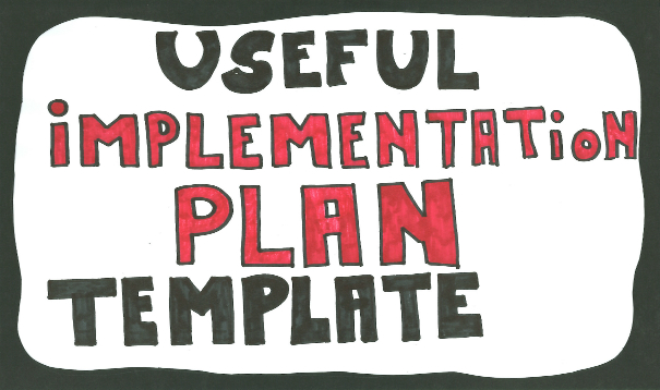 Implementation Plan Template Easy-to-use Steps \ Example - implementation plan template
