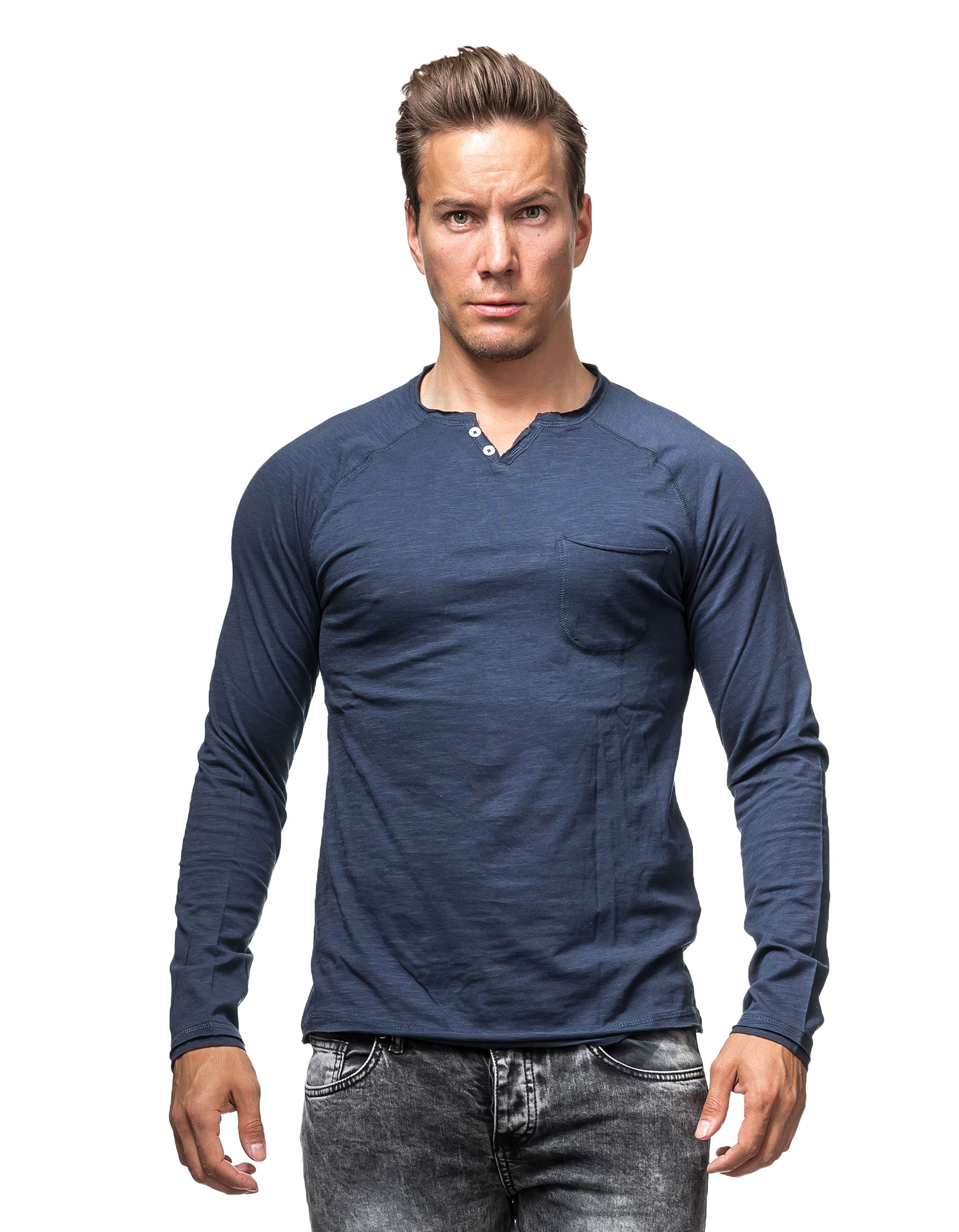 Tom Atilor Henley Blue Tom Tailor 1264 - 1264 - Jerone.com