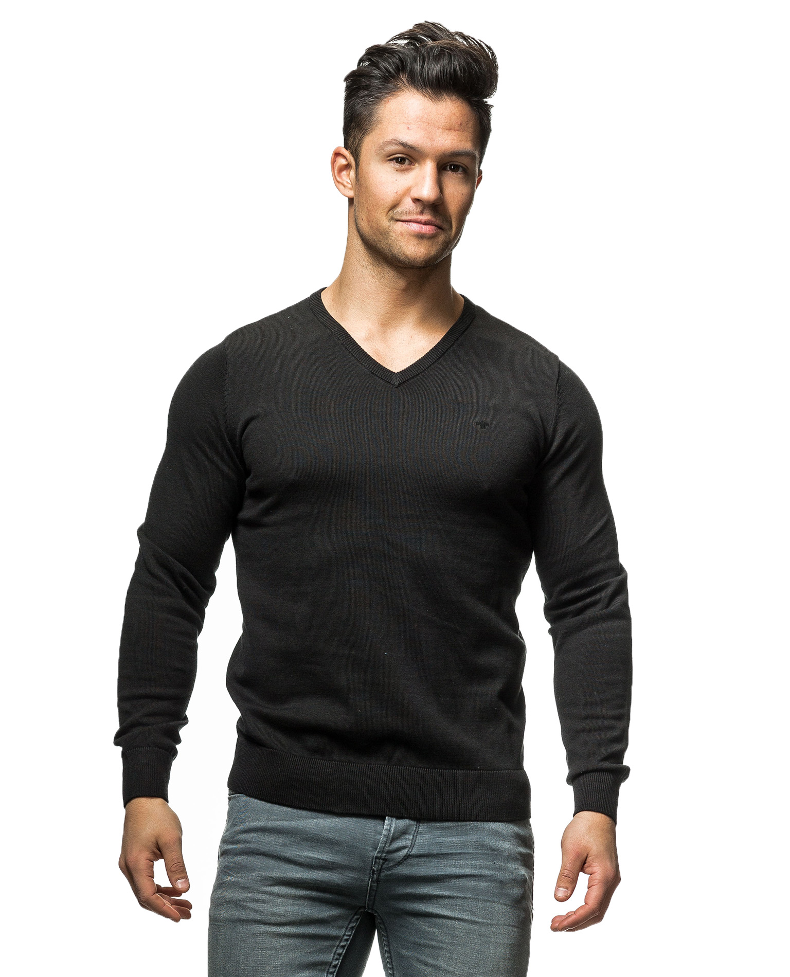 Tom Taolor Basic V Neck Tom Tailor 3578 Long Sleeves Jerone