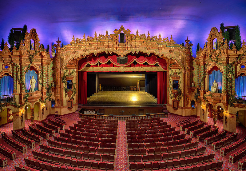 Akron Civic Theater Seating View Elcho Table