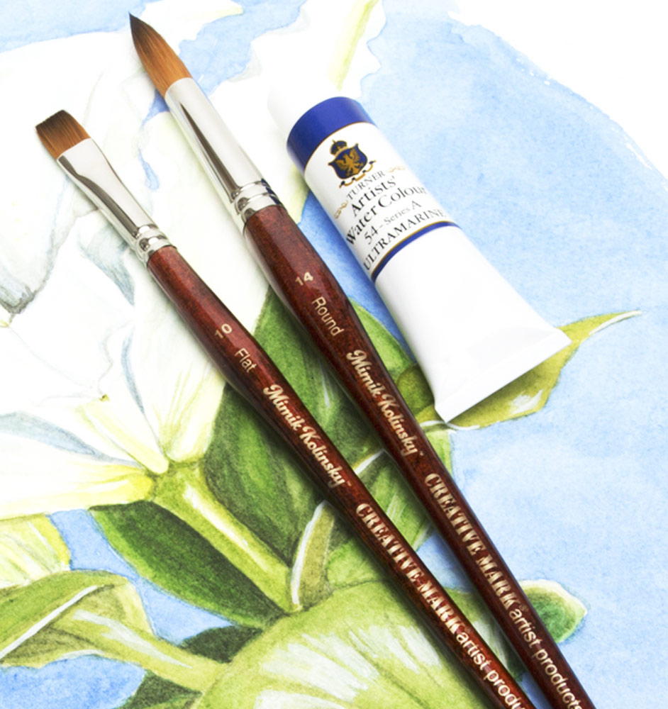 Colored Water Brush Watercolor Brushes Decorative Brushes Jerry S Artarama