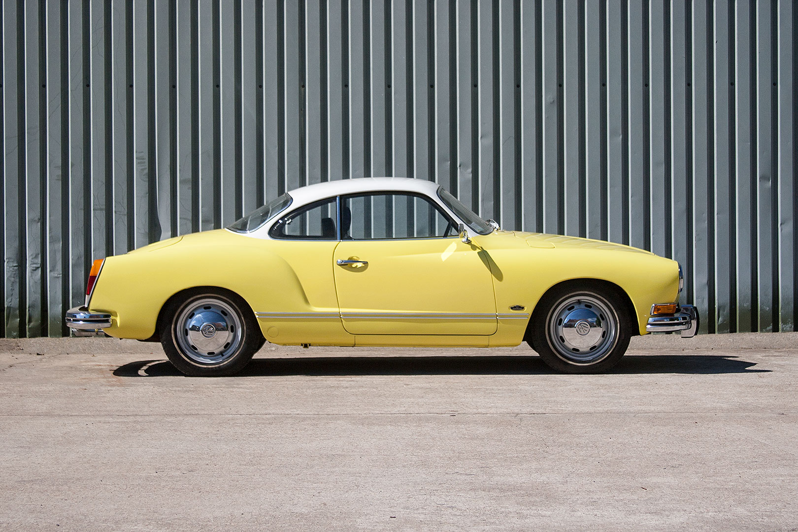 Italian Design Vw Vw Karmann Ghia 1973 Type 14 Coupe Jersey Classic And