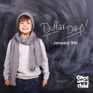 Dollar Days Once Upon A Child