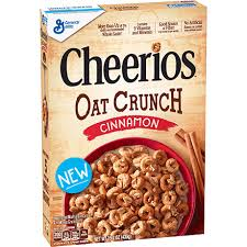 cheerios oat crunch