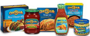ORTEGA PRODUCTS
