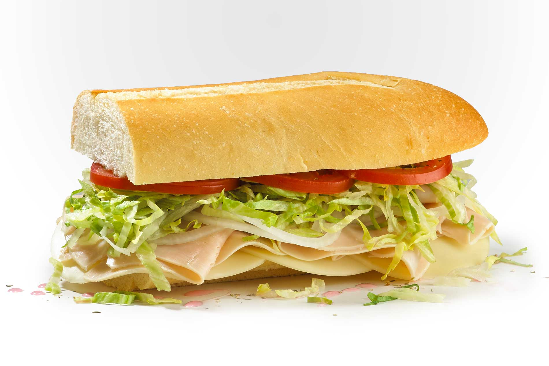 Fresh Turkey 7 Turkey Breast And Provolone Fresh Sliced Cold Subs Jersey