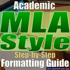 How do you write the name of an article in an essay? MLA style?