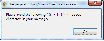 Verizon Filter