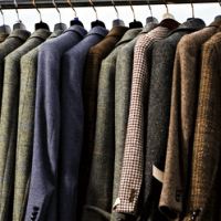 Imagine what your professor's closet looks like. Tweed. Acres of tweed.