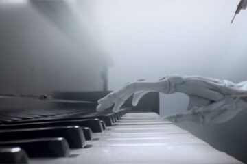 piano fingers Westworld